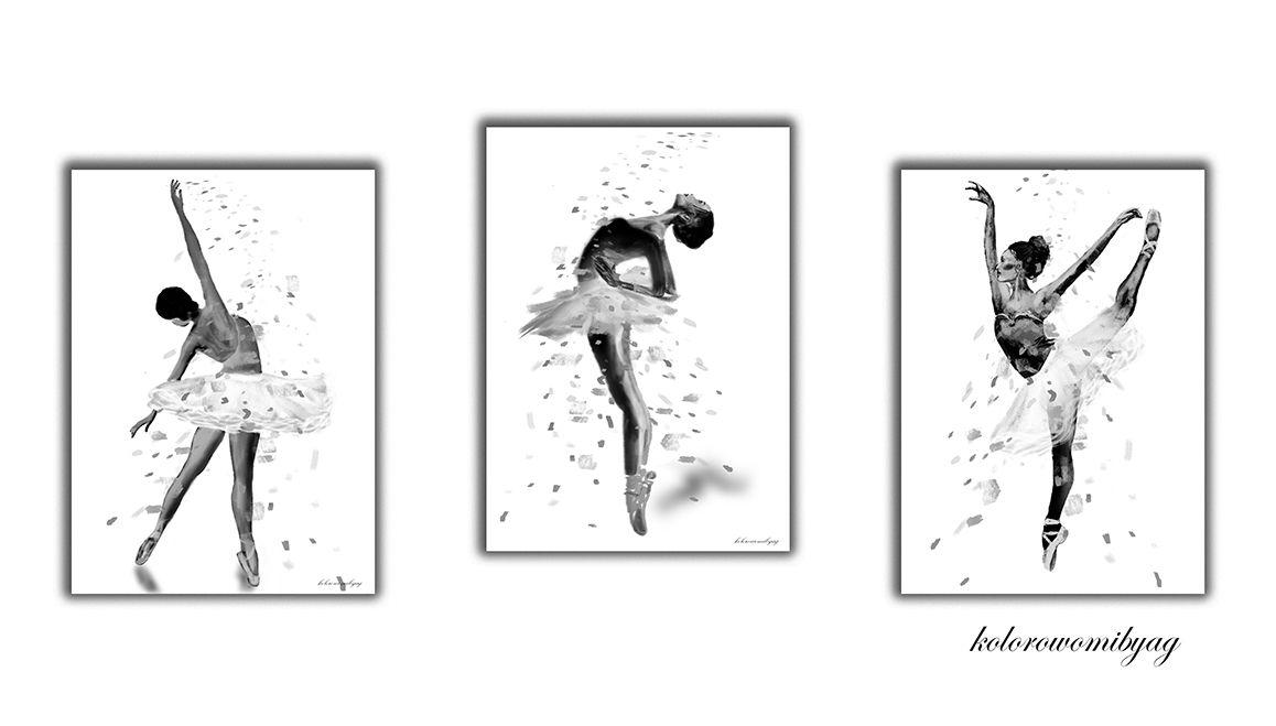 Czarno Białe Abstrakcje Kolorowomibyag
