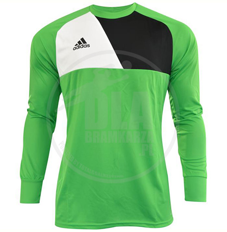 25000637eebc5 Bluza bramkarska Adidas ASSITA 17 (zielony) - dlabramkarza.pl